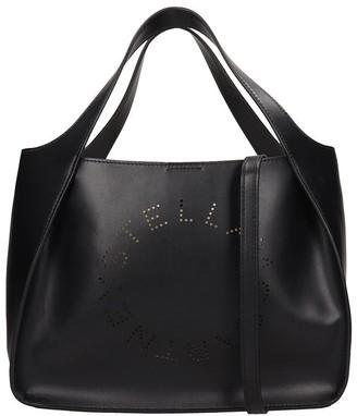 Stella McCartney Tote In Black Faux Leather