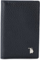 Tod's grained card holder - men - Calf Leather - One Size