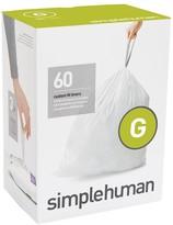 Williams-Sonoma Williams Sonoma simplehumanTM; (G) Custom Fit Trash Can Liners, 60pk