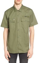 Obey Men's Mission Military Shirt