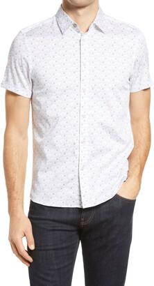 Ted Baker Soarin Short Sleeve Button-Up Shirt