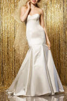 Watters Strapless Mermaid Bridal Dress