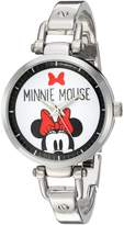 Disney Women's 'Minnie Mouse' Quartz Metal and Alloy Automatic Watch, Color:-Toned (Model: W002818)