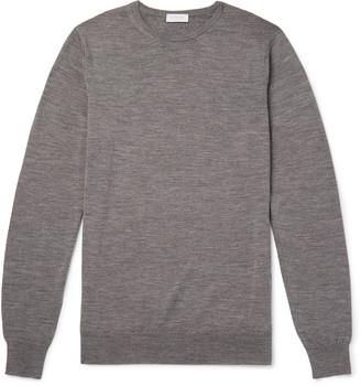 Sunspel Slim-Fit Merino Wool Sweater