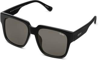 Quay Sunglasses Womens **Black On The Prowl Sunglasses By Black