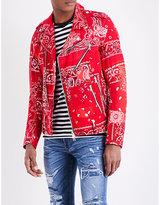 Amiri Patchwork bandana-print cotton jacket