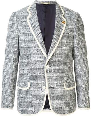 Education From Young Machines bouclé tweed blazer