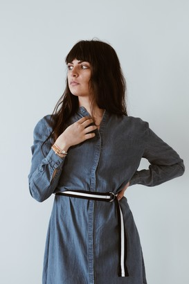 Saint Tropez Denim Midi Shirt Dress - XS