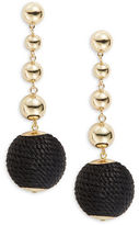 RJ Graziano Linear Ball Drop Earrings