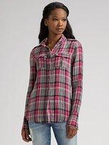 The Shirt by Joe's Slim Plaid Shirt