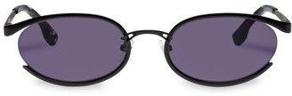 Tres Solo 56MM Oval Sunglasses