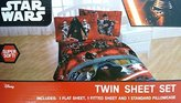 Disney Star Wars Ep7 Millennium Falcon 3 Piece Twin Sheet Set