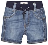 Timberland Blue Stone Wash Denim Bermuda Shorts