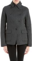 Max Studio Double Weave Wool Tailored Jacket