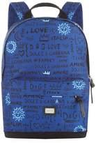 Dolce & Gabbana Graffiti Print Backpack