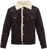 MAISON KITSUNÉ Contrast-collar cotton-corduroy jacket