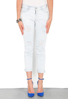 Siwy Denim Kendra Slouchy Skinny Trouser Jean in Who Cares