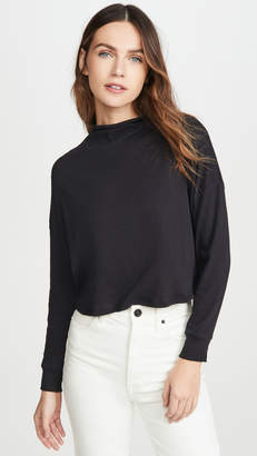Chaser Gauzy Cotton Crop Dolman Tee