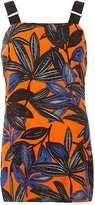 Dorothy Perkins Leaf Print Sleeveless top