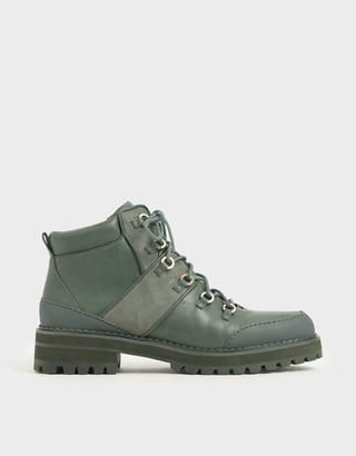Charles & Keith Lace-Up Hiking Boots