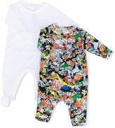 Kenzo printed romper and pyjama set - kids - Cotton - 3 mth