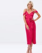 Bardot Leah Wrap Dress