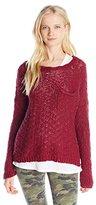 Roxy Junior's Good Day Sunshine Cotton Sweater