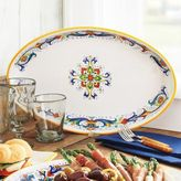 Sur La Table Deruta-Style Oval Serving Dish
