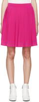 Kenzo Pink Pleated Miniskirt