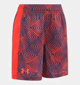 Under Armour Boys' Pre-School UA Midtown Grid Eliminator Shorts