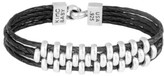 King Baby Studio Men's Leather Bracelet