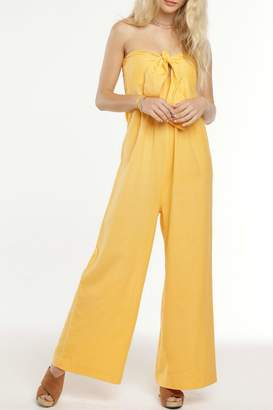 Patrons Of Peace Daisy Strapless Jumpsuit