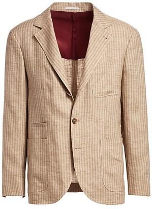 Brunello Cucinelli Wool & Cashmere Blazer