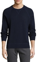 Brooks Brothers Cotton Athletic Crew Sweater