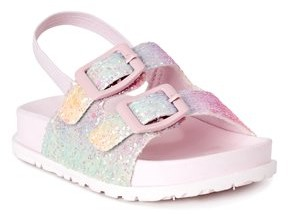 First Steps by Stepping Stones First Walker Back-Strap Buckle Footbed Sandal (Infant Girls)