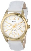 "Timex Women's T2P071KW ""Ameritus"" Watch with Leather Band"