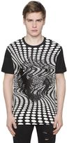 Versus Embroidered Psychedelic Jersey T-Shirt