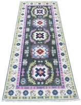 """One-of-a-Kind Gouglersville Southwestern Hand-Knotted Runner 2'6"""" x 6'3"""" Gray Area Rug Isabelline"""