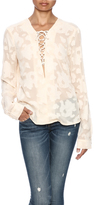 Miss Me Sheer Luck Blouse