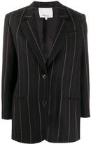 3.1 Phillip Lim striped straight-fit blazer