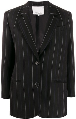 3.1 Phillip Lim Striped Straight-Fit Blazer