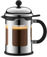 Bodum Four-Cup Chambord Stainless Steel French Press