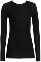 ATM Anthony Thomas Melillo Micro-Ribbed Crewneck Top