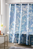 Urban Outfitters Freya Floral Shower Curtain