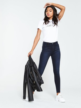 Very Short Florence High Rise Skinny Jeans - Ink