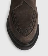 AllSaints Graffin Monkstrap Suede Shoes
