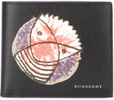 Burberry printed cardholder - men - Leather - One Size