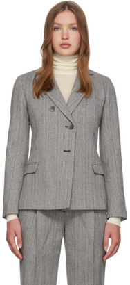 3.1 Phillip Lim Grey Merino Series Tweed Blazer