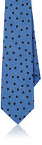 Alexander Olch MEN'S POLKA DOT COTTON POPLIN NECKTIE