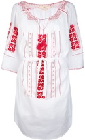 Vanessa Bruno embroidered tunic dress